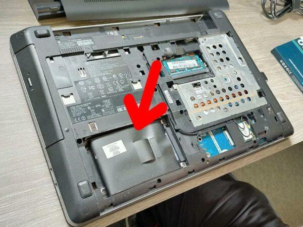 Changement disque dur SSD