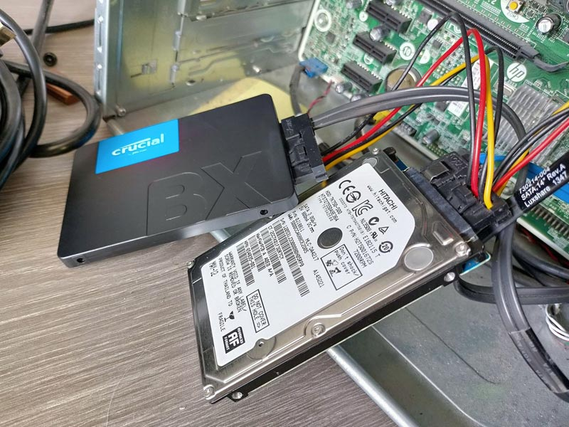 Clonage de disque dur