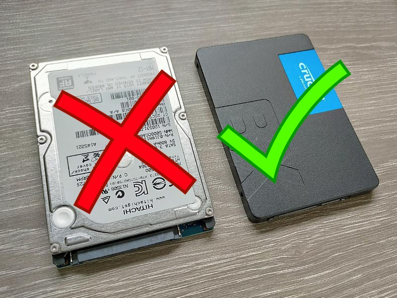 Remplacer le disque dur par un SSD pour booster son PC